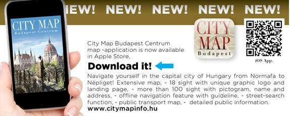 City map info with City Centre Apartments aparthotel
