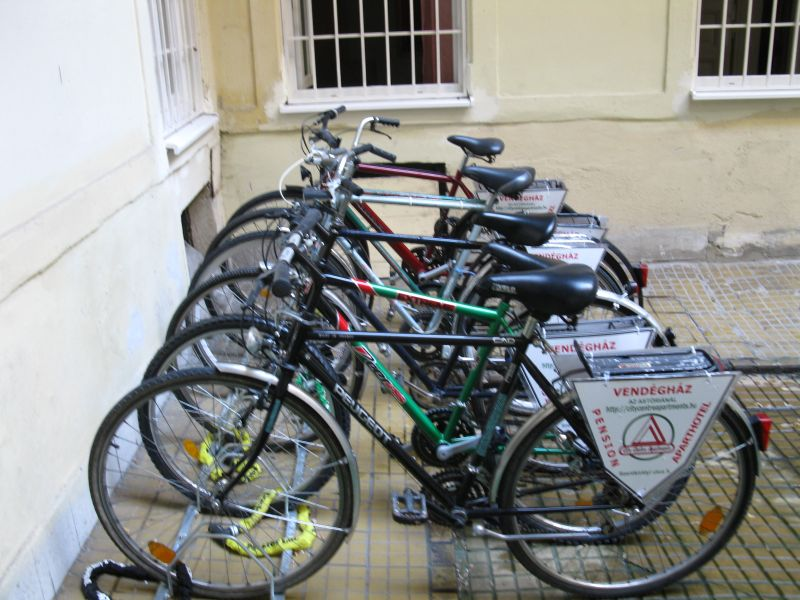 bicycle rental Aparthotel apartment hotel in Budapest